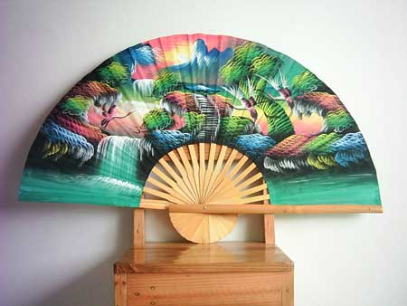 waterfall fan